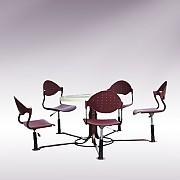조립형 테이블 의자 탁자 Set