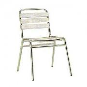 알루미늄 등받이 의자