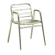 알루미늄 팔거리 의자